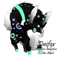 Tinifox Adopt 3: CLOSED by Akari-Adopts