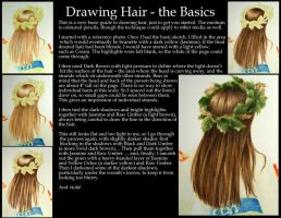 Tutorial - Drawing Hair by theperian