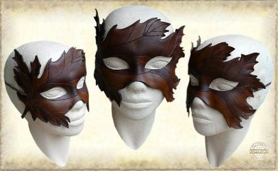 Leather mask 153 by Eternal-designs-com