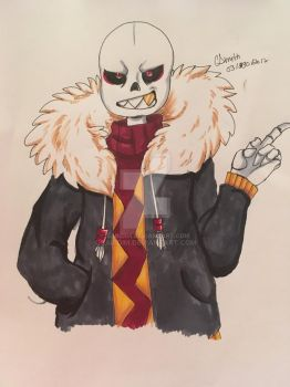 Big Red - Underfell Sans by Saridim