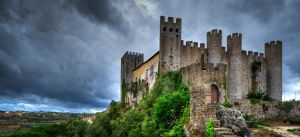 Obidos castle by roman-gp