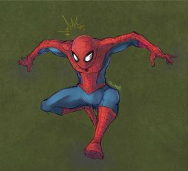 Spidey by tsunami-dono
