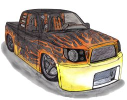 Toyota Tacoma X-Runner request by Mister-Lou