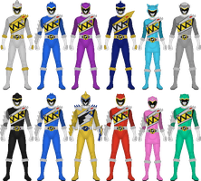 Zyuden Sentai Kyoryuger, 100 Years After by Taiko554