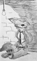 Nick Wilde in Trouble by Boblame