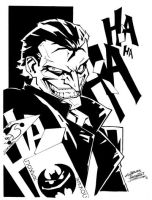 Comic Shop Joker by KidNotorious