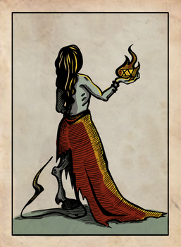 Tarot 15 - The Devil by Veitstanzproject