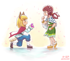 Ni No Kuni 2 - Marriage Proposal by HundredSea