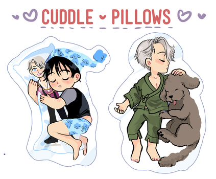 Cuddle Pillows by cambrasine
