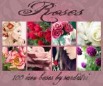 Icon Bases: Roses by Sardistri