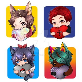 C :: YCH Icon Batch 2 by Obily