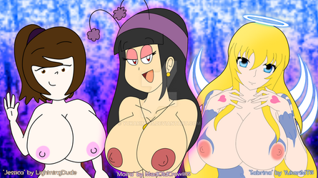 Art Collab: What about some tiddies? by YukariMT15