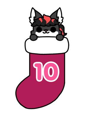 Christmas Stocking day 10: CupcakeRed1 by to-much-a-thing