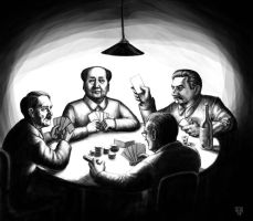 A Game of Poker by Domigorgon
