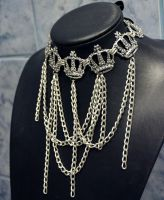 Glam Chain Necklace by Pinkabsinthe