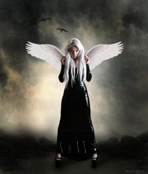 angel in the dark by Skategirl