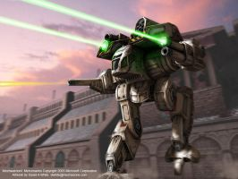 MechWarrior Mercs Wallpaper 3 by Mecha-Zone