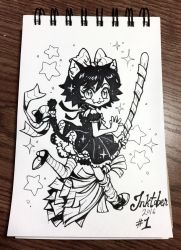 Inktober 2016 Day 1 by celesse