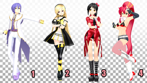 MMD Pose Pack 18 by Aisuchuu