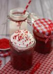 Red Velvet Cake in a Jar and on the Go by theresahelmer