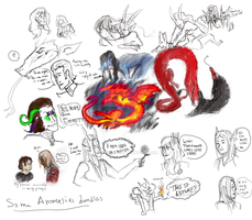 Anomalies Doodlesss by Anomalies13