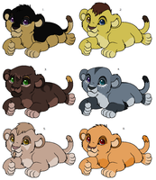 Cheap lion cub adopts[CLOSED] by SAdoptsS