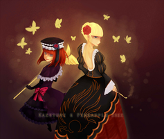 Banquet of the Golden Witch by mono-tone