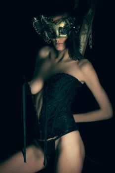Masked Bandit by photoduality