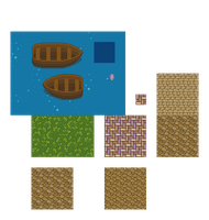 Town Exterior Tiles #1 - WIP by RollToNotDie