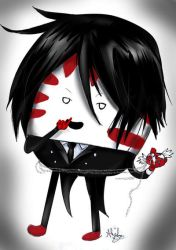 Black Peppermint Butler by Checker-Bee