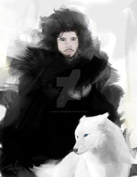 Jon Snow by kakiyo-sempai
