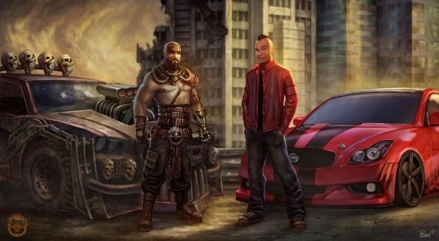 Fast and Furious Mad Max Bros by PTimm