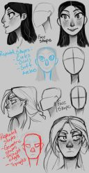 College Work: Alara and Dagny Concepts Pt. 1 by the-Orator