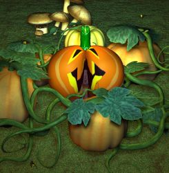 The Pumpkin Patch by Chup-at-Cabra