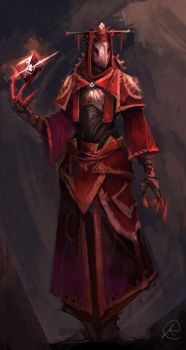 Mage Concept by JasonTN
