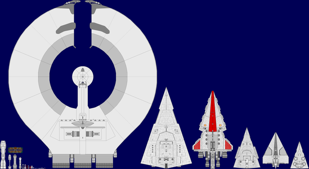 Star Wars Ships by captshade