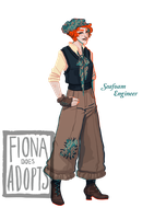 [closed] Adopt - Seafoam Engineer by fionadoesadopts