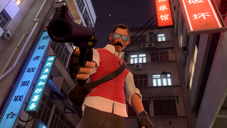 upgraded a friend's pose by TommyGun00