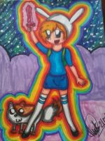 AT:Fionna and Cake .:Adventure Time:. by PrincessaaDaisy12