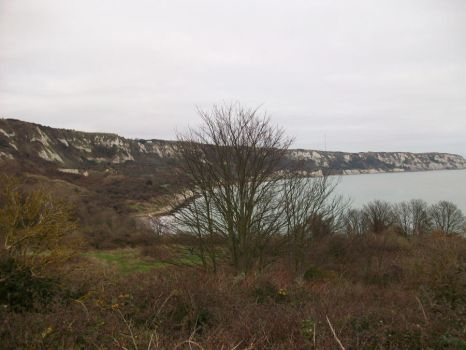 View towards Dover Kent England from East Cliff by royawilson