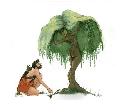 (Im)possible couples: Dryad and Hunter by Ninidu