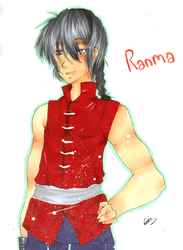 AT: Ranma by GoldenPineappleTree