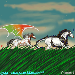 Finished YPH for Cas by WalkingDeadStables