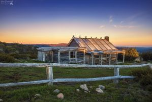 Sunrise At Craig's Hut by djzontheball