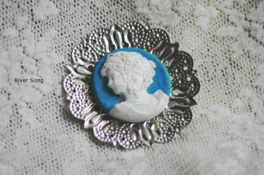 brooch with a cameo by Anastasia-Kor