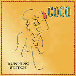 Coco Running Stitch Album Cover Parody by NToonz