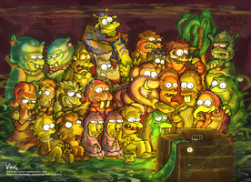 Simpsons ZOO by VinnieScullo