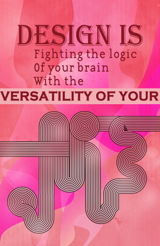 Design is Fighting the Logic V2 by Pryanka