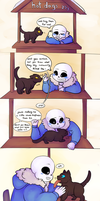 Undertale: A furry pawsible situation by CaptainClovey