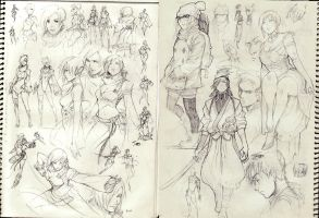 2013 sketches by kasai